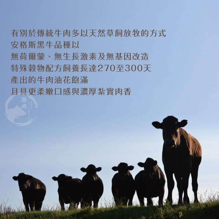 欣明◆澳洲榖飼黑牛雪花牛排(120g/2片) 5