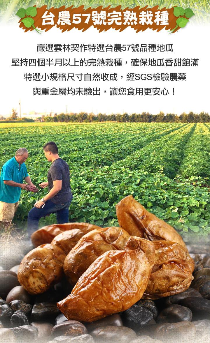 【愛上美味】完熟黃金冰心烤地瓜250g±10%(約5-7條) 2