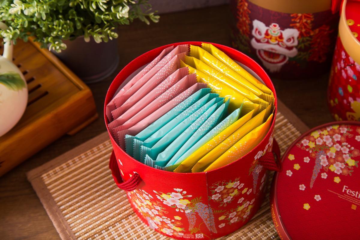 老奶奶手作煎餅年節禮盒(20包/盒) 6