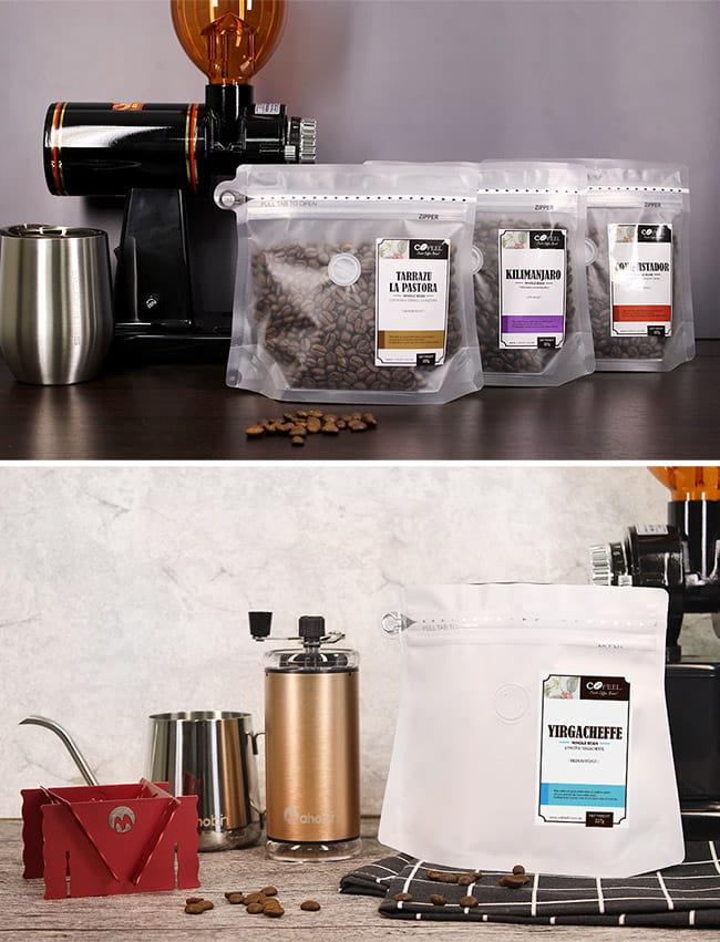 CoFeel 凱飛鮮烘豆哥斯大黎加征服者中深烘焙咖啡豆半磅 16