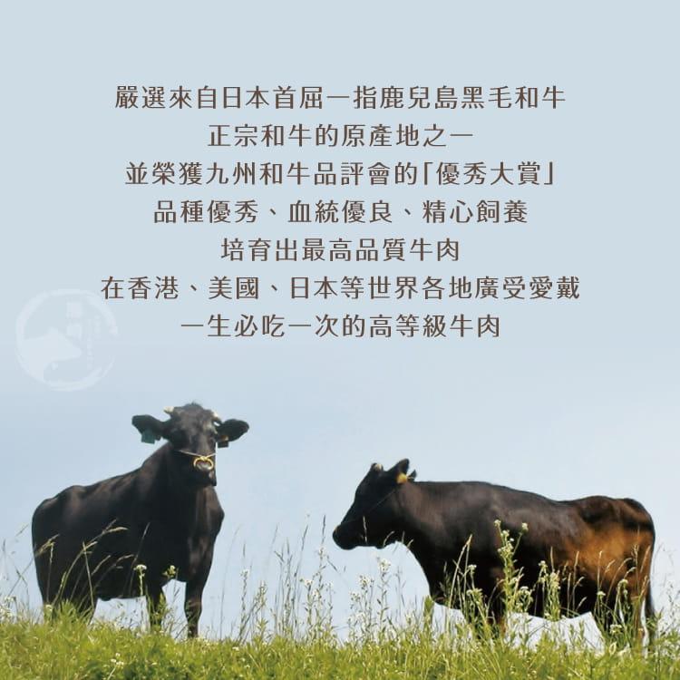 欣明◆日本A5純種黑毛和牛霜降牛排(200g/1片) 5