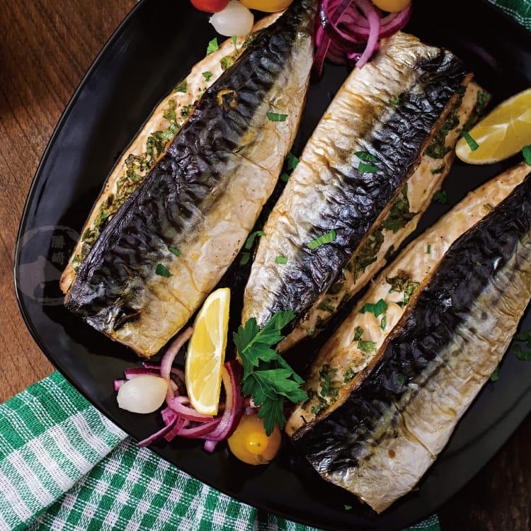 欣明◆挪威薄鹽鯖魚切片(150g/1片) 0
