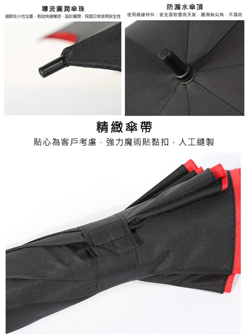 【TengYue】超級大商務自動開防風曬雨傘 10
