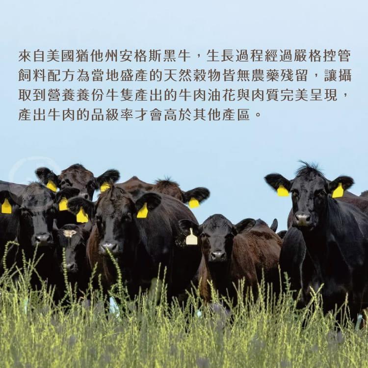 欣明◆美國PRIME藍絲帶霜降牛排(120g/2片) 5