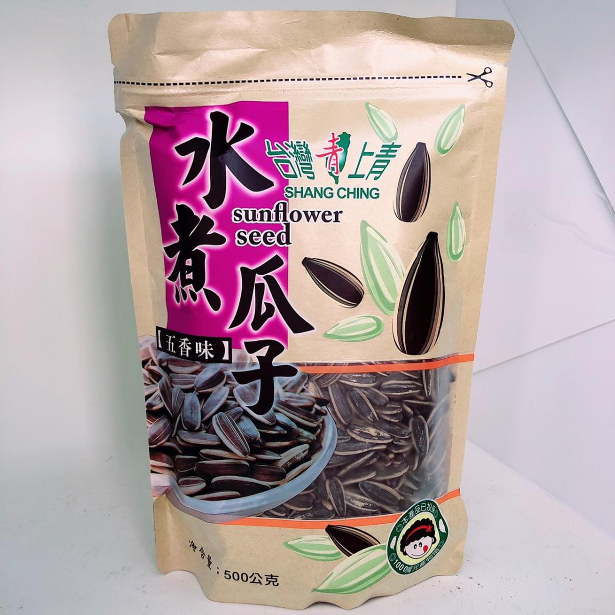 【台灣上青】網路爆紅的水煮瓜子500g(五種口味任選) 6