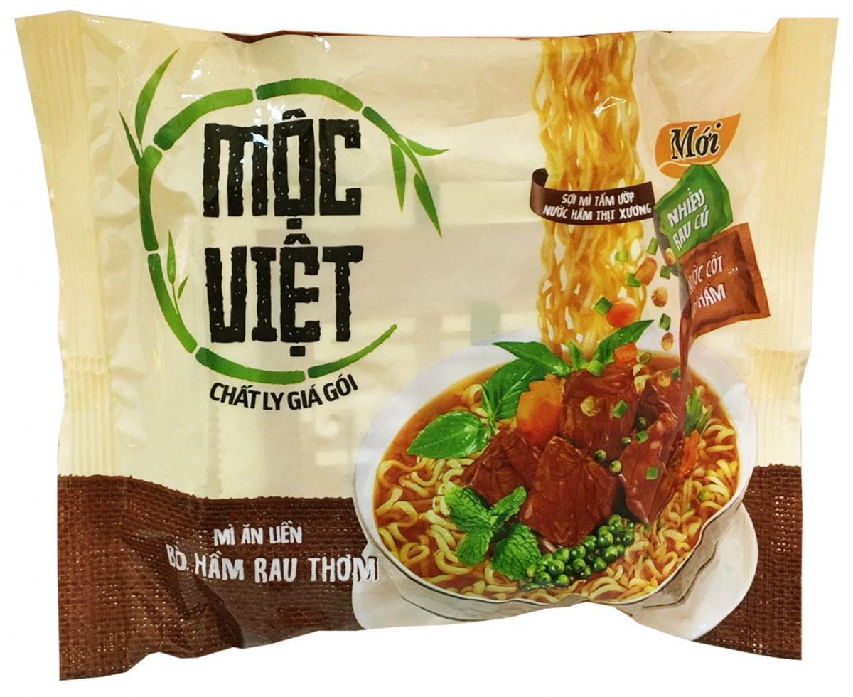 MOCVIET牛肉味麵 (75g/包) 2