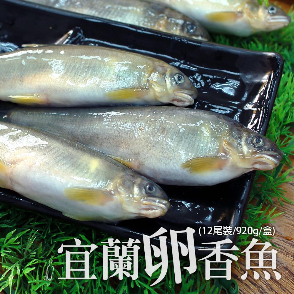 【築地一番鮮】宜蘭帶卵小香魚(12尾裝/920G/盒) 0