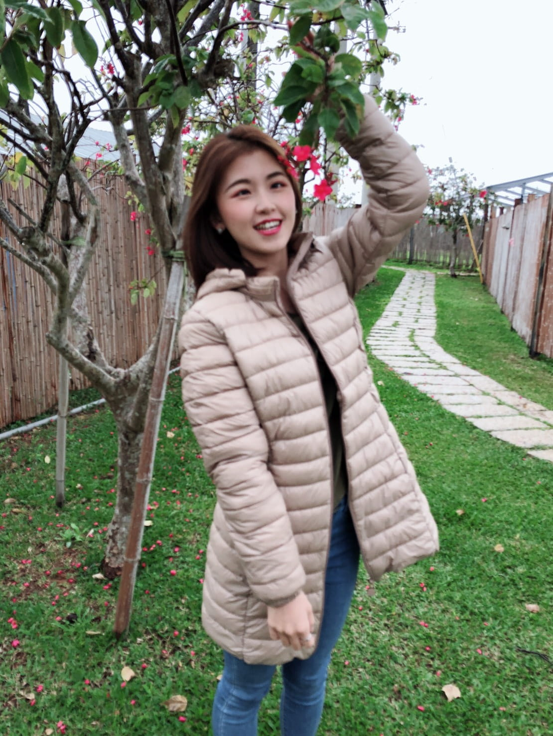 韓版修身羽絨輕薄款外套 3