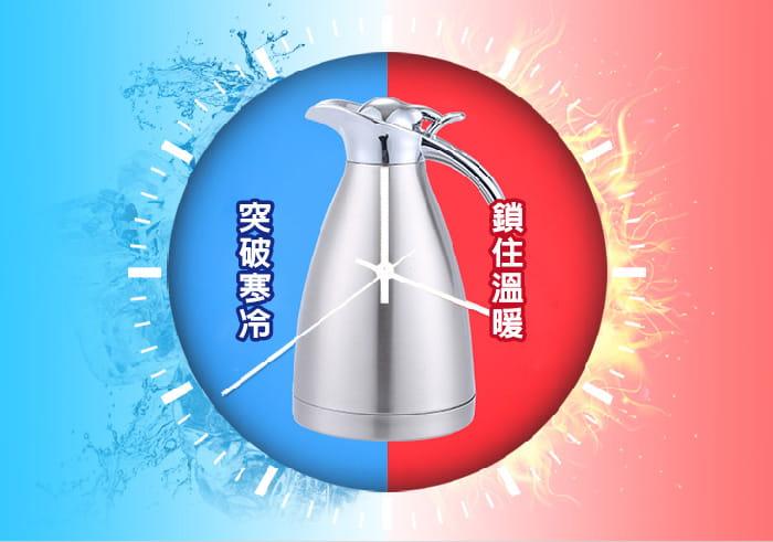 【DaoDi】雙層真空鎖溫304不鏽鋼保溫瓶 1.5L 3