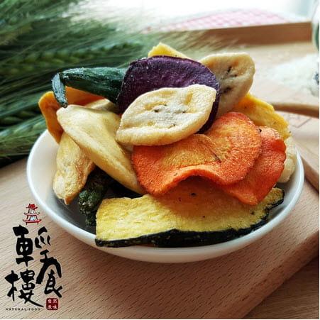 輕食樓綜合蔬果脆片160g 2