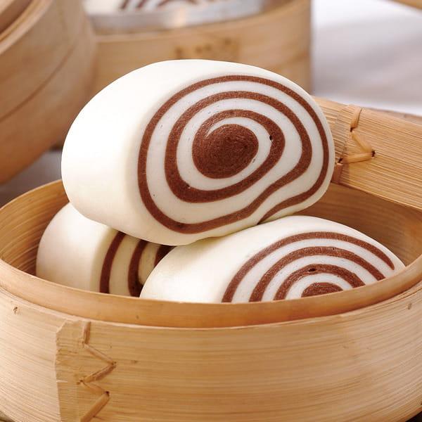 【奇美】雙色巧克力饅頭(60g/粒) 0