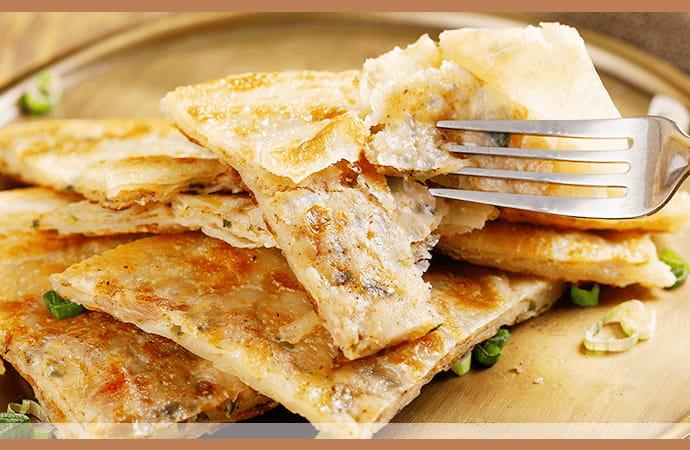 【大成】酥嫩雞肉蔥油餅 (140g/片) 4