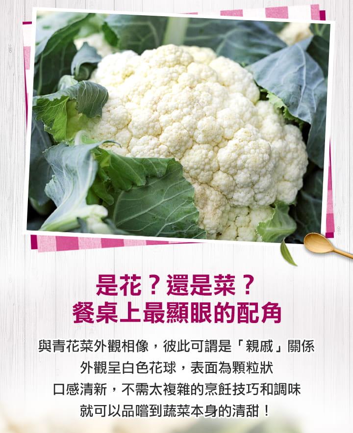 【愛上美味】鮮凍青白花椰菜 2