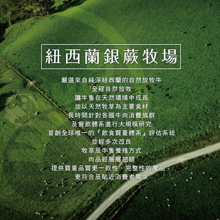 欣明◆紐西蘭銀蕨PS熟成巨無霸沙朗牛排~超厚切(450g) 5
