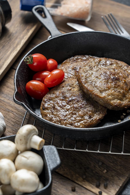 【強匠】超厚實美式熟漢堡牛排(80g/片) 3