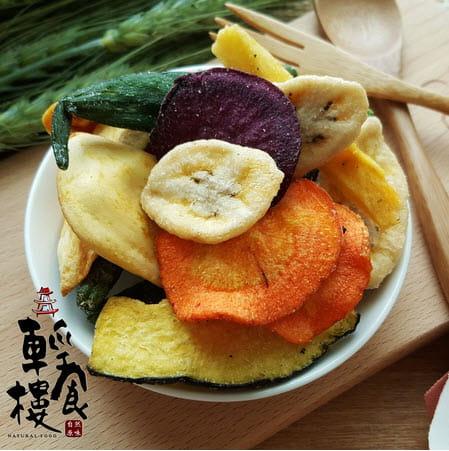 輕食樓綜合蔬果脆片160g 0