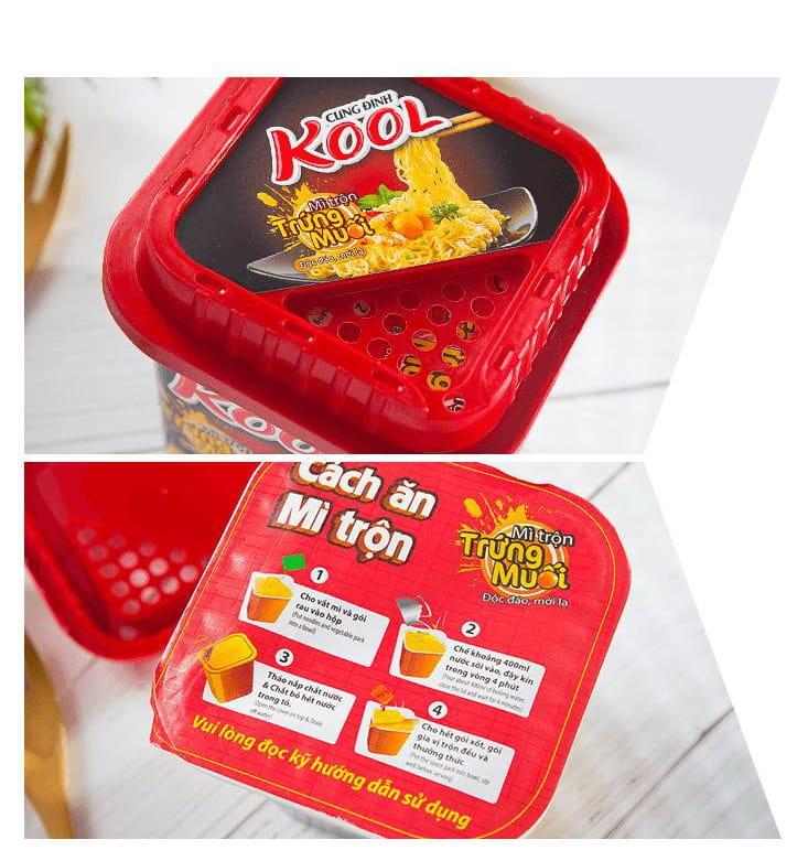 KOOL鹹蛋炒麵〈乾拌麵〉  2