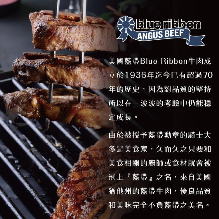 欣明◆美國CAB藍帶凝脂帶骨牛小排~大份量(200g/1片) 6