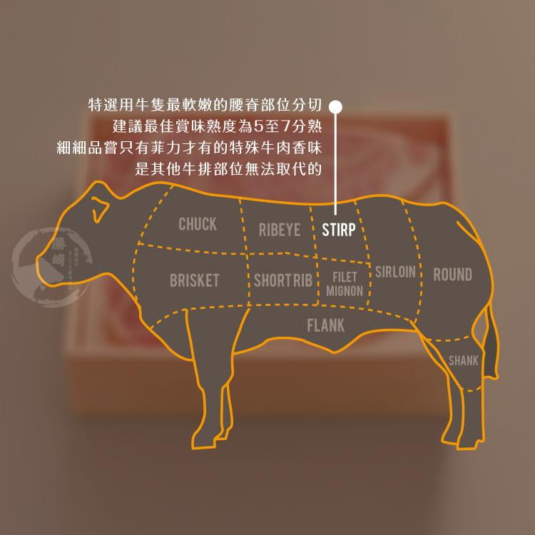 欣明◆澳洲安格斯藍鑽菲力厚切燒肉(200g/1包) 7