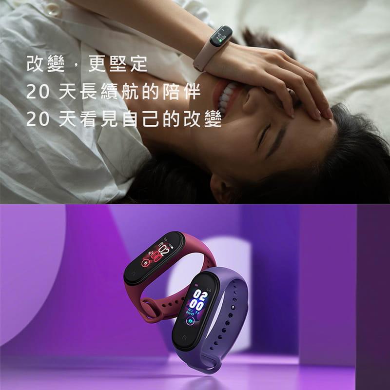 小米手環4  標準版黑   繁中全新彩色螢幕 20天待機 10