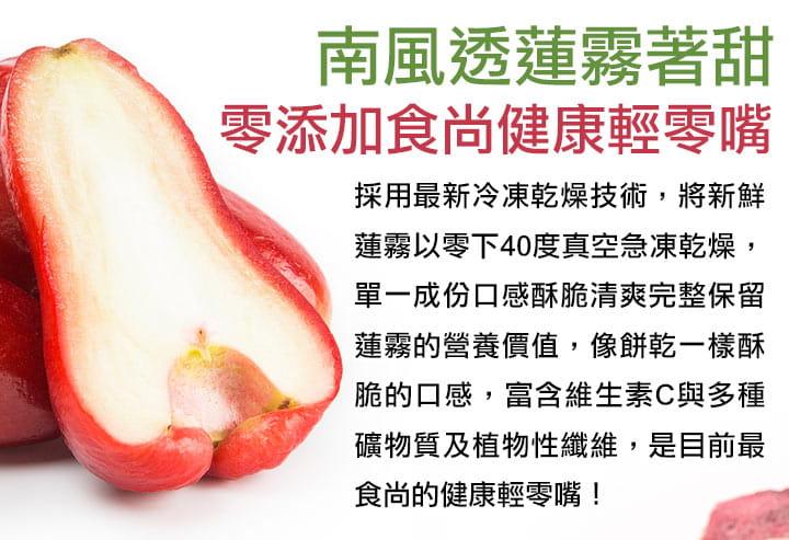 【愛上美味】鮮凍蓮霧鮮果乾 1