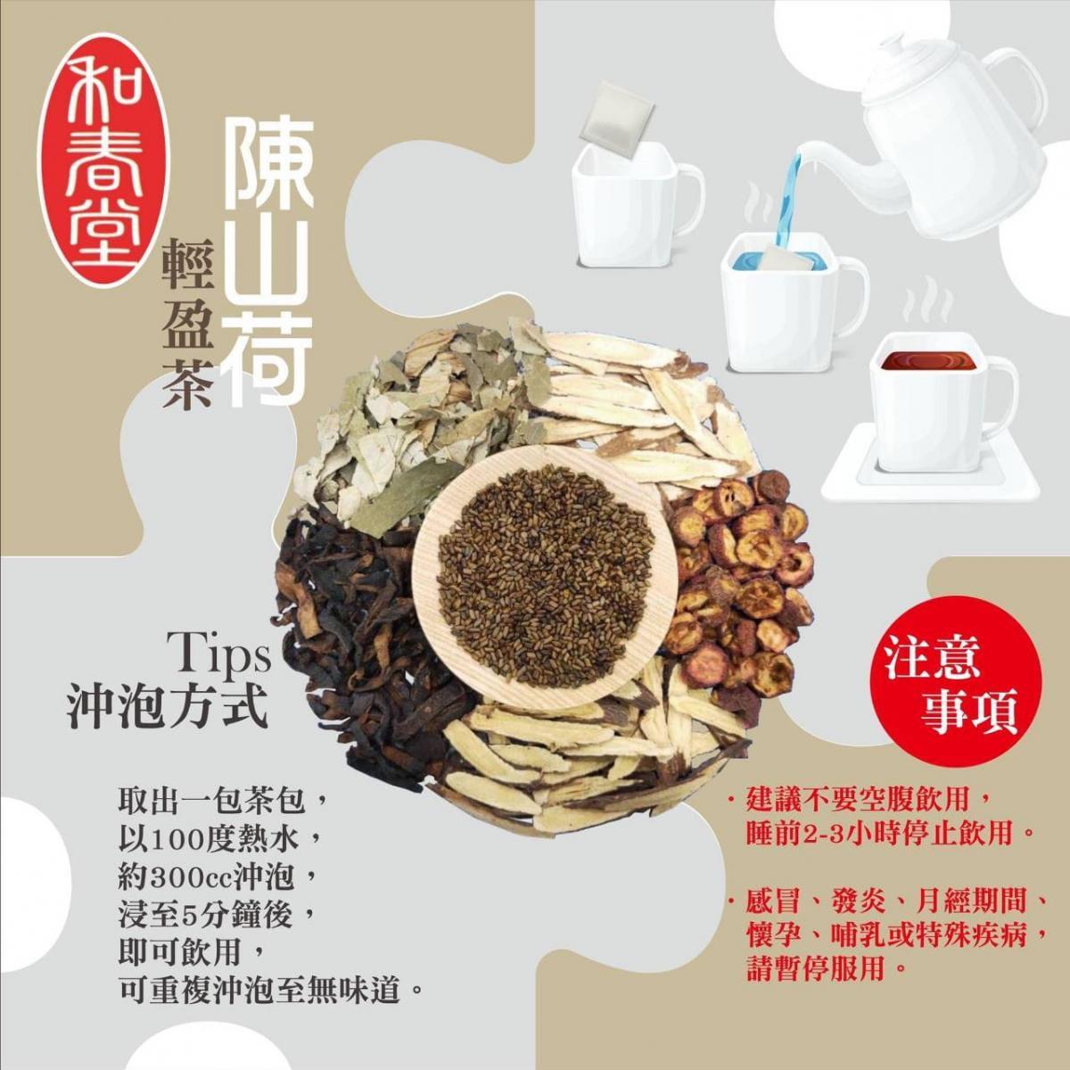 【和春堂】陳山荷輕盈茶包 3