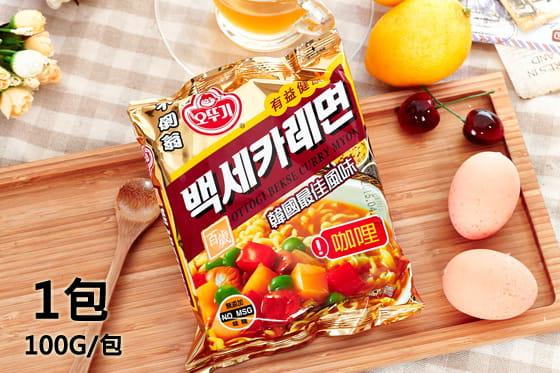 【韓國不倒翁】拉麵系列(起司/咖哩/北京炸醬麵/香辣海鮮) 1