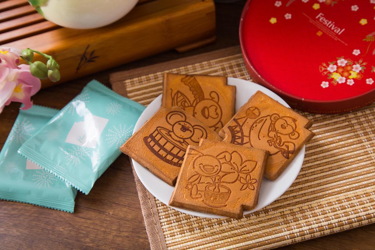 老奶奶手作煎餅年節禮盒(20包/盒) 3