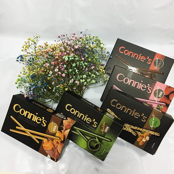【愛加食品】CONNIE'S巧克力棒(40g/盒) 0