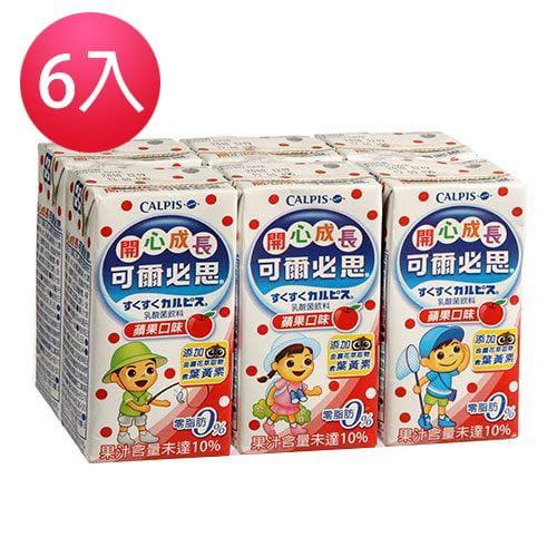 可爾必思乳酸菌飲料 (6瓶/入) 2