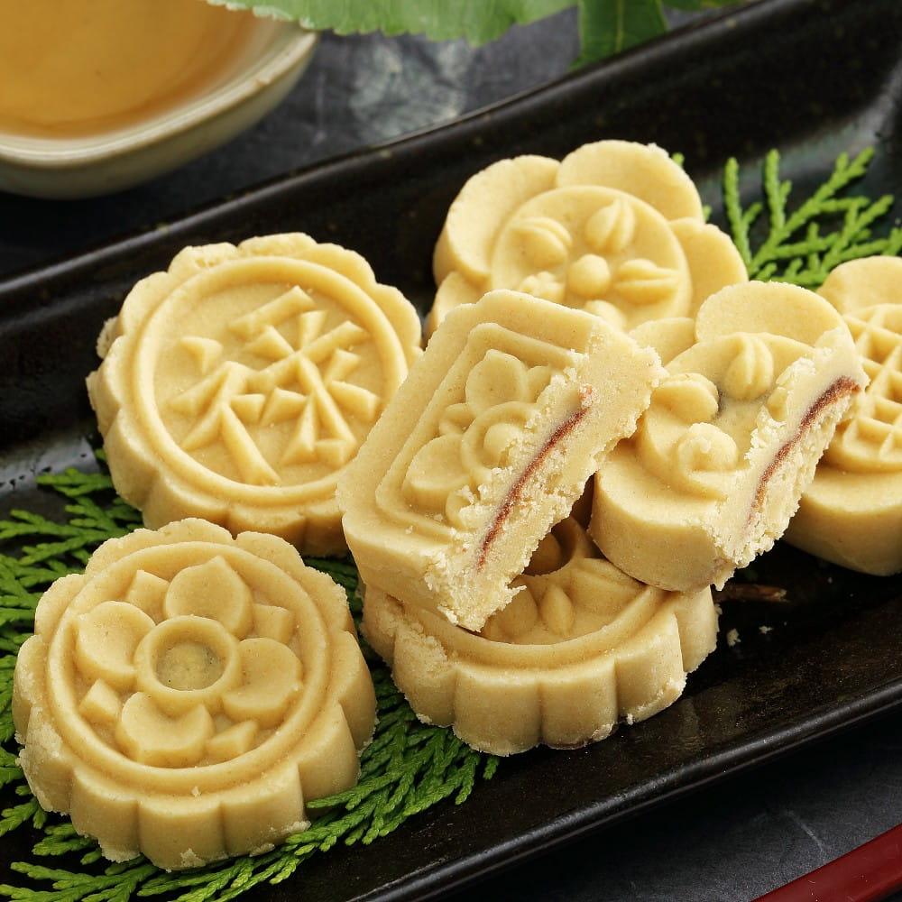【蘇州采芝齋】府城手作綠豆糕隨手包(6入/包) 3