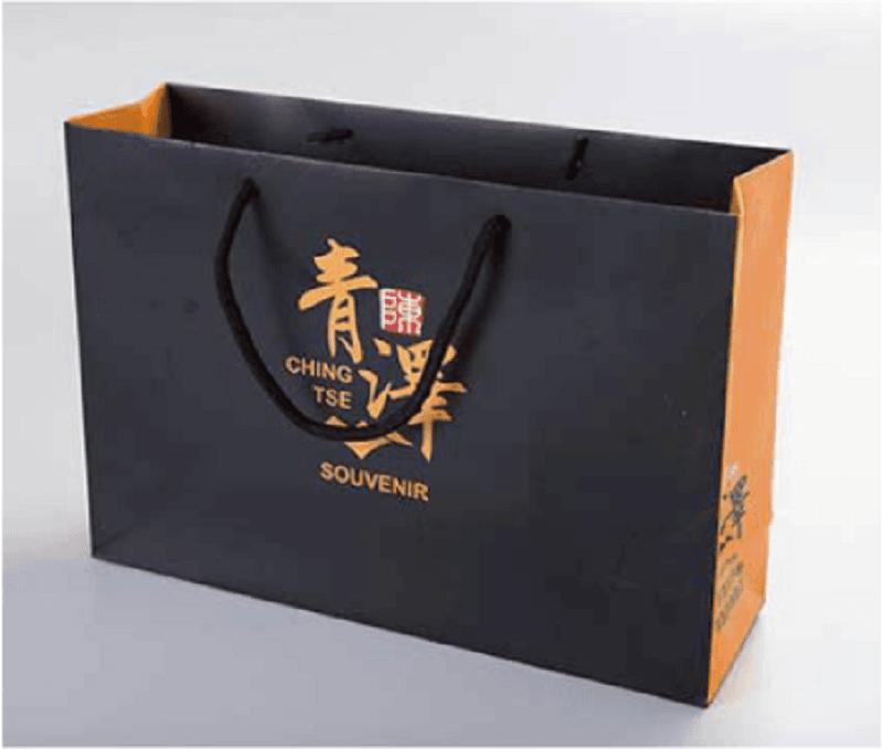 青澤伴手禮/黑磚鳳梨酥(附紙袋) 3
