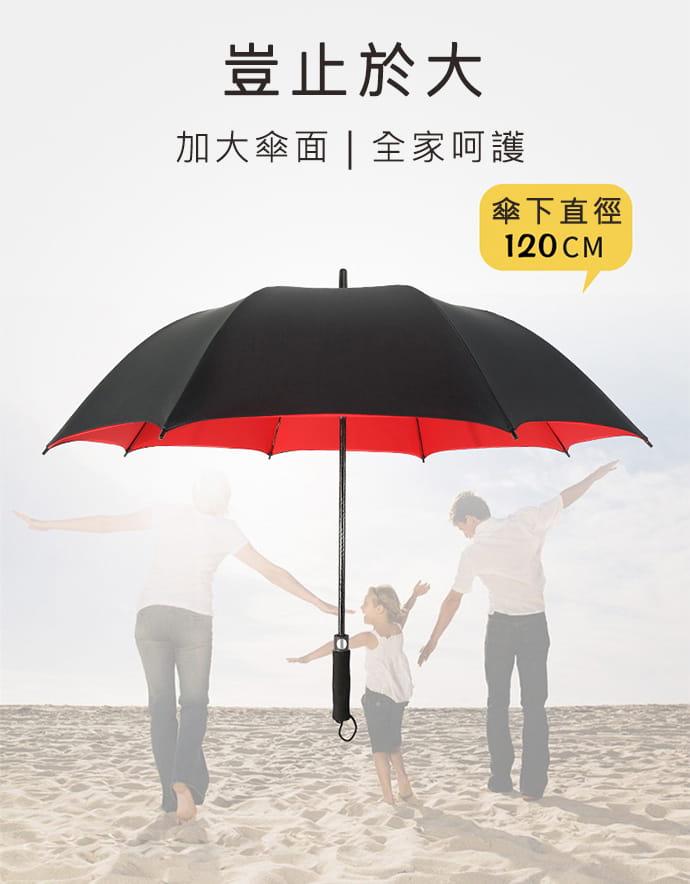 【TengYue】超級大商務自動開防風曬雨傘 5