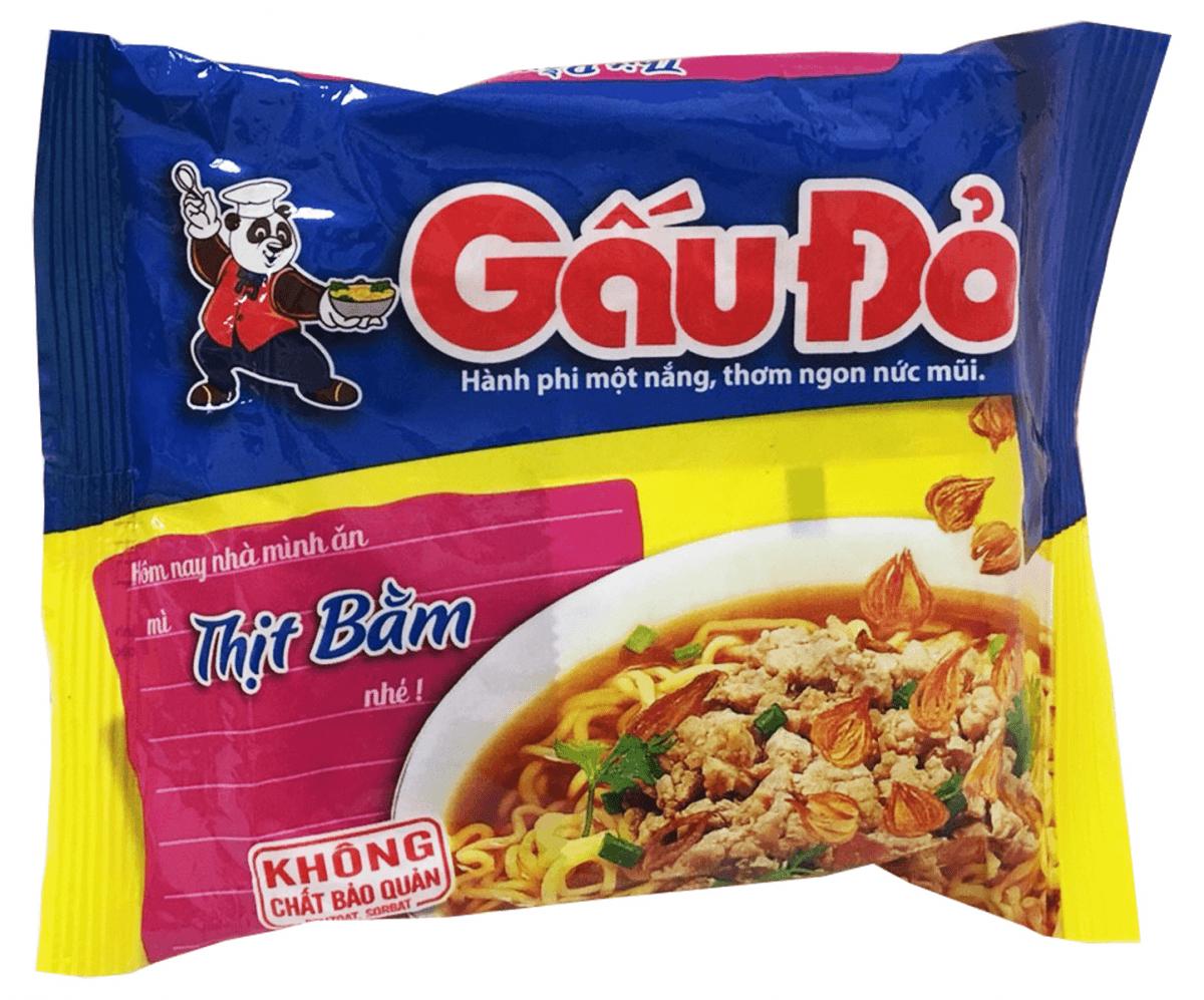 GAUDO碎肉味麵(64g/包) 1