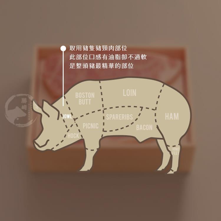 欣明◆頂極黃金六兩霜降松板豬(300g/1~2片) 10