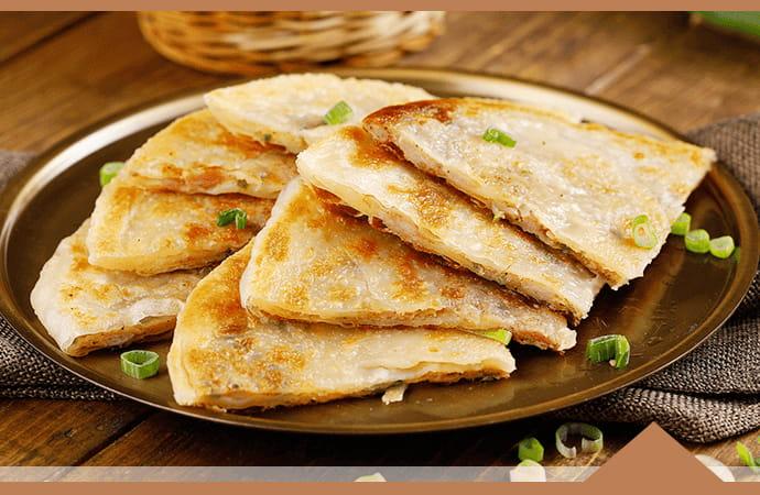 【大成】酥嫩雞肉蔥油餅 (140g/片) 3