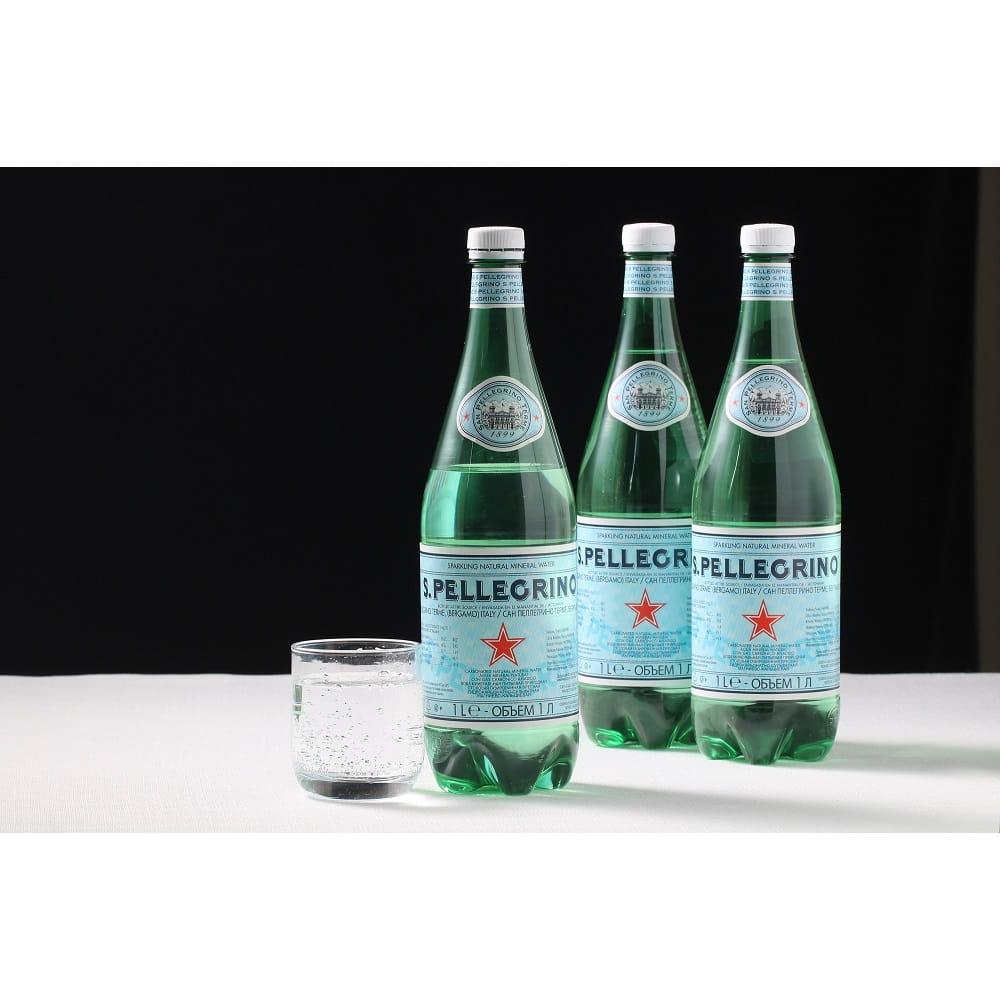 聖沛黎洛 天然氣泡礦泉水-寶特瓶1000ml 0