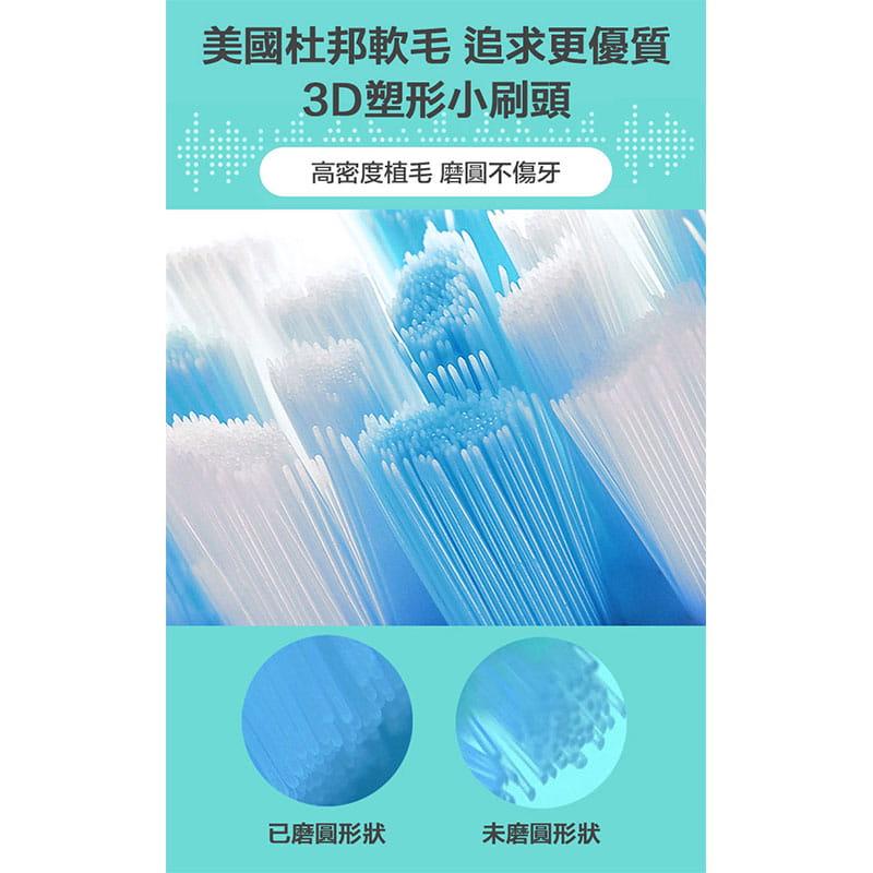 【買一送一】防水超聲波柔軟電動牙刷 3色任選(買再贈牙刷架) 8