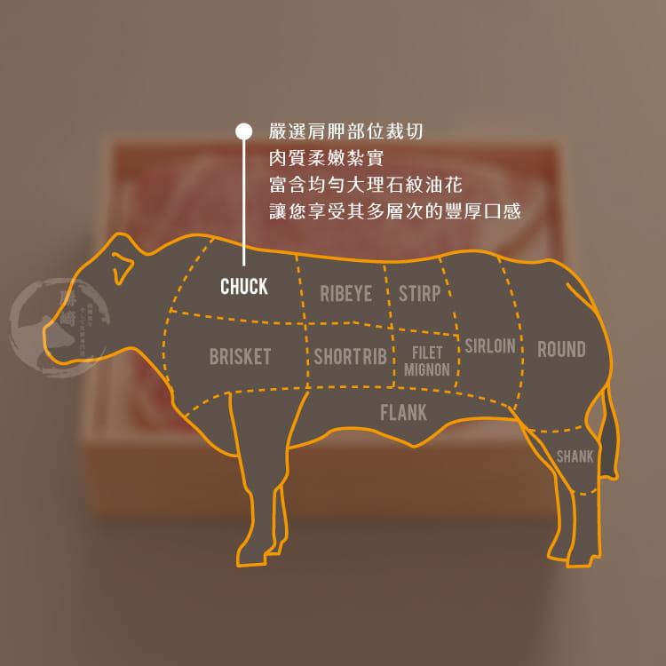 欣明◆特選美國藍帶嫩肩牛排(150g/1片) 7