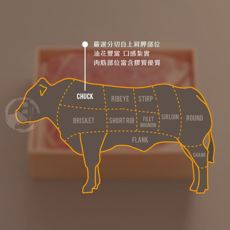 欣明◆澳洲安格斯藍鑽雪花牛排(200g/2片) 7