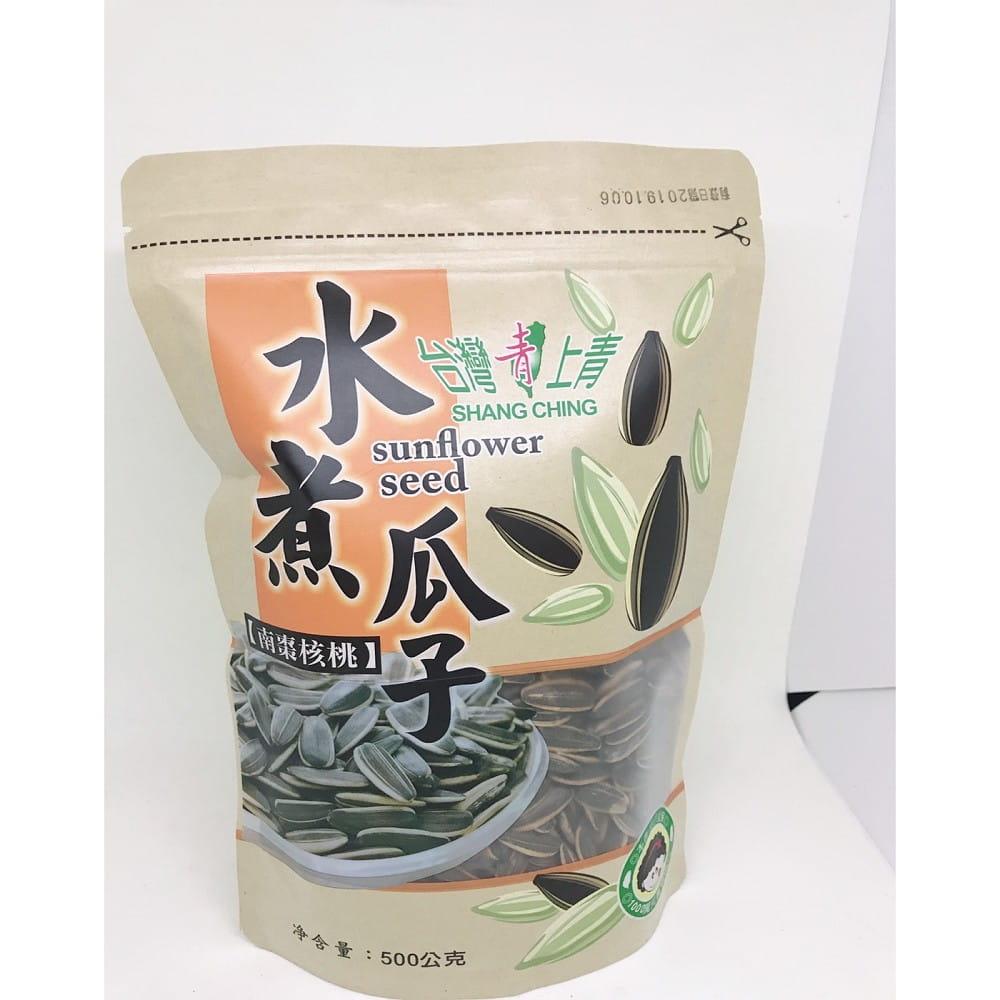 【台灣上青】網路爆紅的水煮瓜子500g(五種口味任選) 7