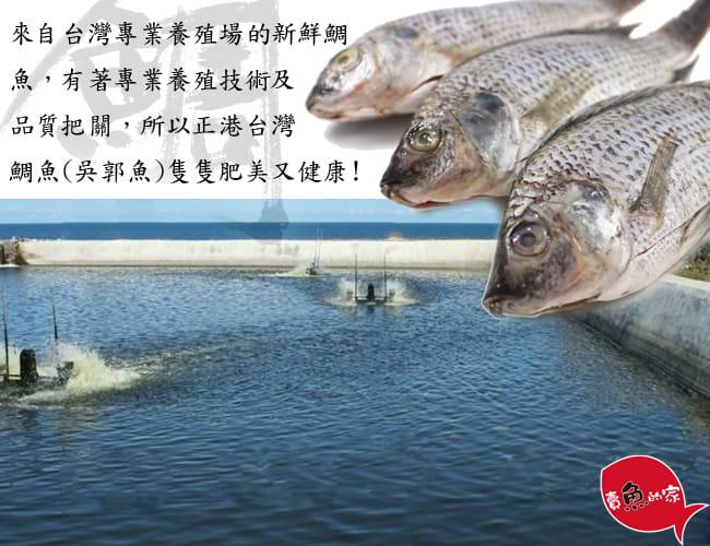 【賣魚的家】大四品鮮魚任選(虱目魚、鱈魚、鱸魚、鯛魚) 5