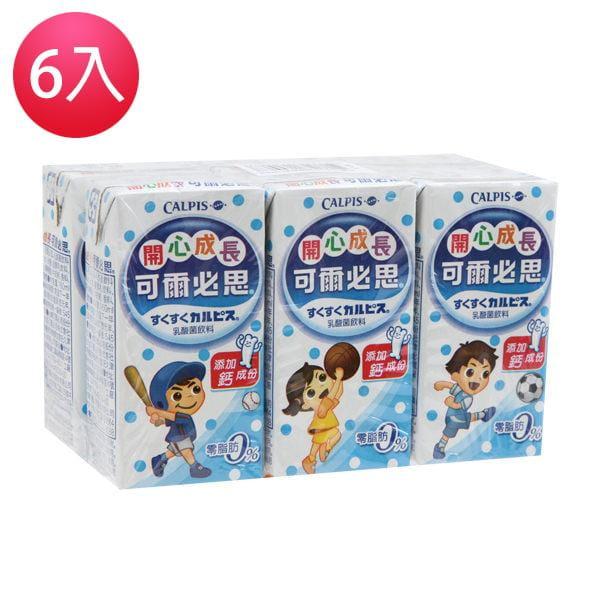 可爾必思乳酸菌飲料 (6瓶/入) 1