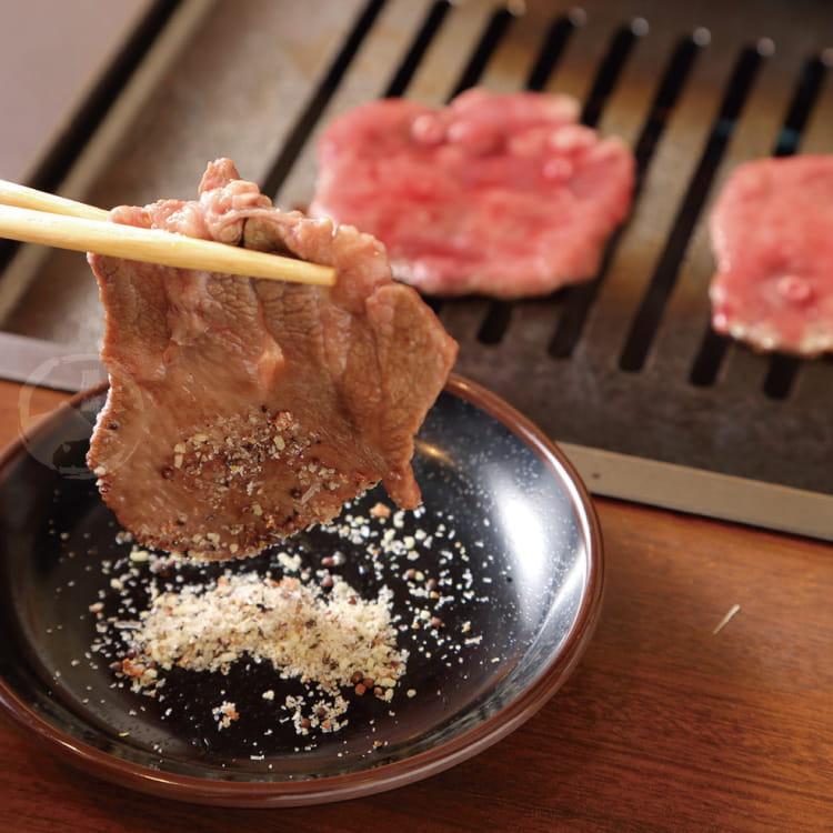 欣明◆頂級老饕鮮脆燒烤牛舌片(200g/1盒) 0