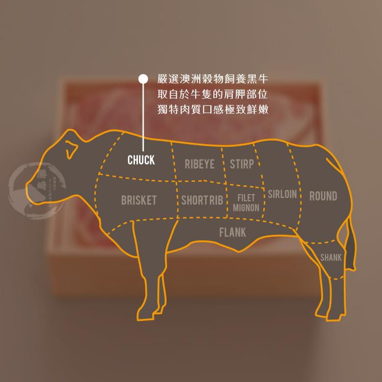 欣明◆澳洲安格斯濕式熟成肋眼牛排(200g/1片) 7