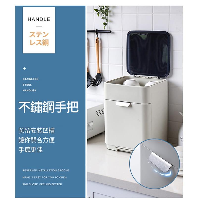 日本無印雙層碗盤瀝水架 10