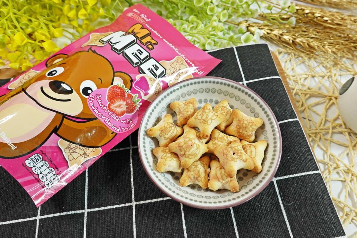 蜜蜜熊小餅乾任選 9