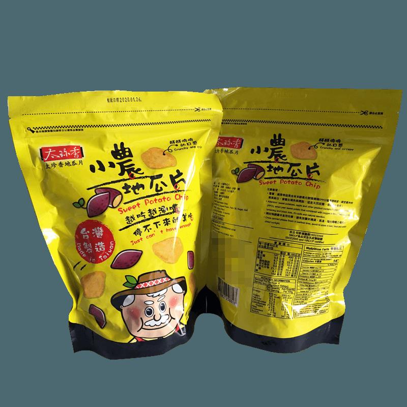 太珍香小農地瓜片  2