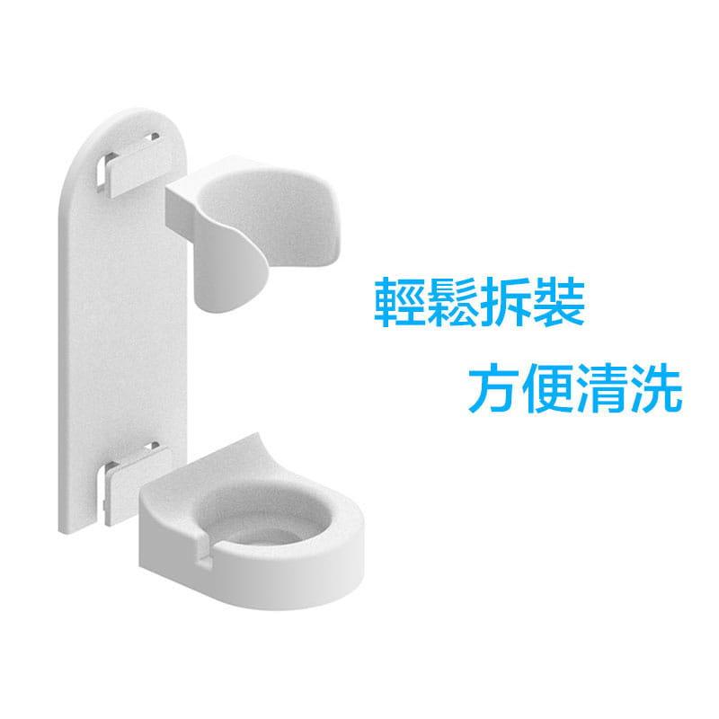 【買一送一】防水超聲波柔軟電動牙刷 3色任選(買再贈牙刷架) 17