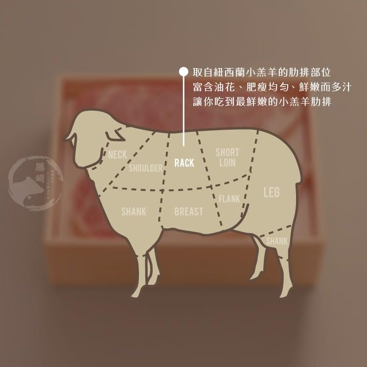 欣明◆紐西蘭頂級小羊OP肋排(620~680g/1包) 7